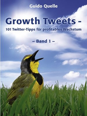 cover image of Growth Tweets -