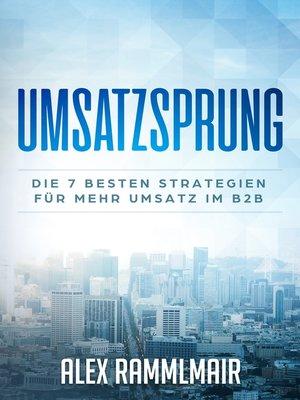 cover image of Umsatzsprung