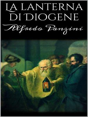 cover image of La lanterna di Diogene