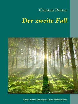 cover image of Der zweite Fall