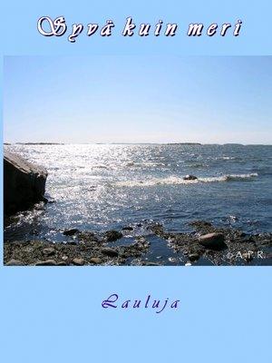 cover image of Syvä kuin meri
