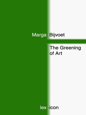 cover image of The Greening of Art