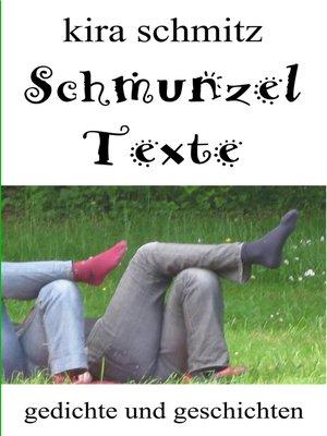 cover image of Schmunzeltexte