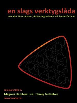 cover image of en slags verktygslåda