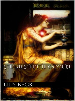 cover image of Studies in the Occult