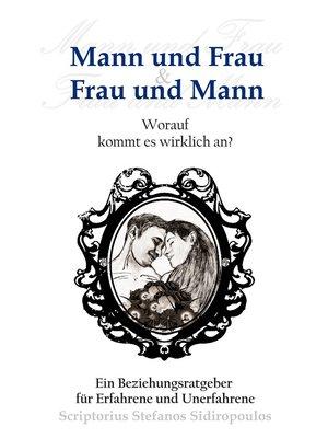 cover image of Mann und Frau & Frau und Mann