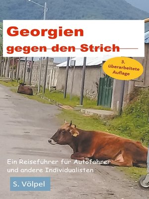 cover image of Georgien gegen den Strich