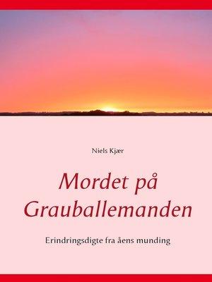 cover image of Mordet på Grauballemanden