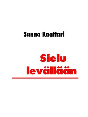 cover image of Sielu levällään