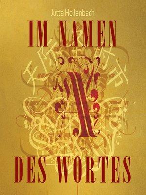 cover image of Im Namen des Wortes