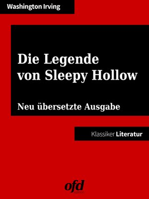 cover image of Die Legende von Sleepy Hollow