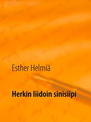 cover image of Herkin liidoin sinisiipi