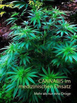 cover image of Cannabis im medizinischen Einsatz