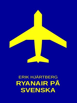 cover image of Ryanair på svenska