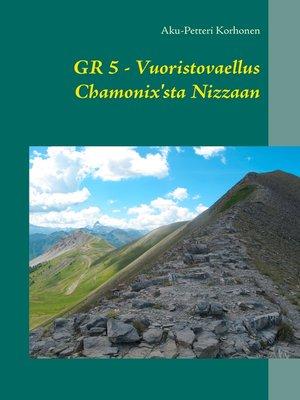 cover image of Vuoristovaellus Chamonix'sta Nizzaan