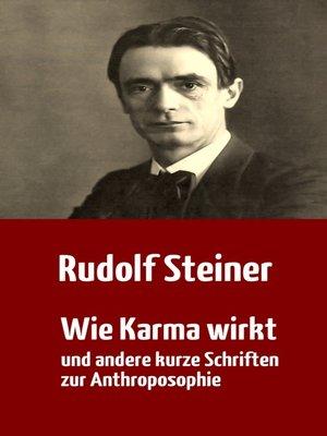 cover image of Wie Karma wirkt