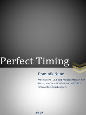 cover image of Perfect Timinig