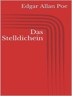 cover image of Das Stelldichein