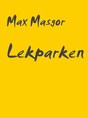 cover image of Lekparken