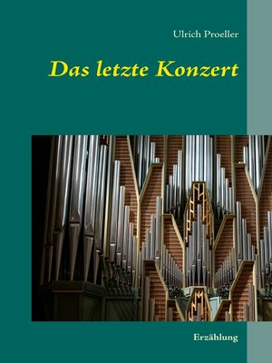 cover image of Das letzte Konzert