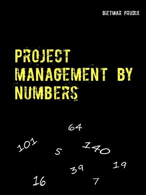 cover image of Project management by numbers