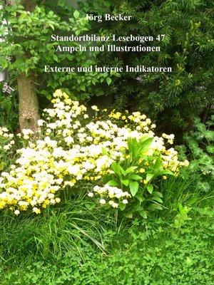 cover image of Standortbilanz Lesebogen 47 Ampeln und Illustrationen