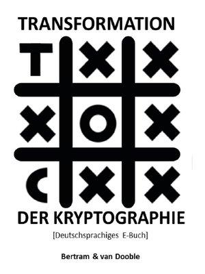 cover image of Transformation der Kryptographie