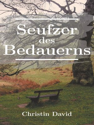cover image of Seufzer des Bedauerns