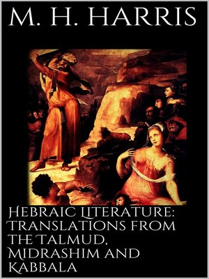 cover image of Hebraic Literature