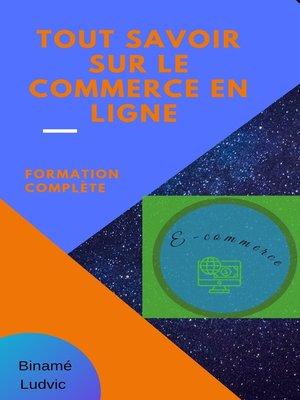 cover image of Tout savoir sur le commerce en ligne