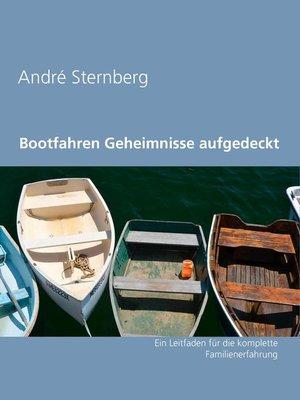 cover image of Bootfahren Geheimnisse aufgedeckt