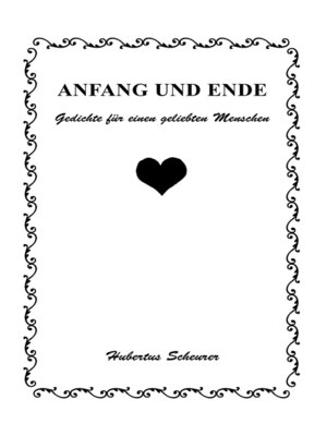 cover image of Anfang und Ende