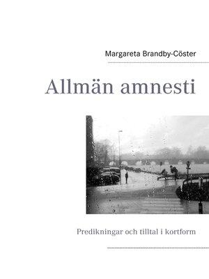 cover image of Allmän amnesti
