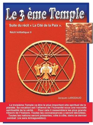 cover image of Le troisième Temple