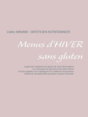 cover image of Menus d'hiver sans gluten