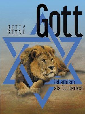 cover image of Gott ist anders als Du denkst