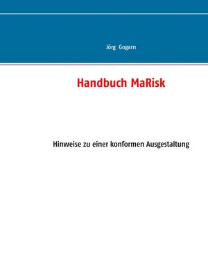 cover image of Handbuch MaRisk