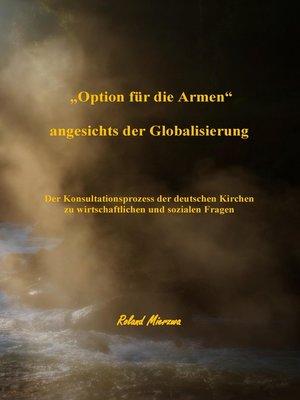 """cover image of """"Option für die Armen"""" angesichts der Globalisierung"""