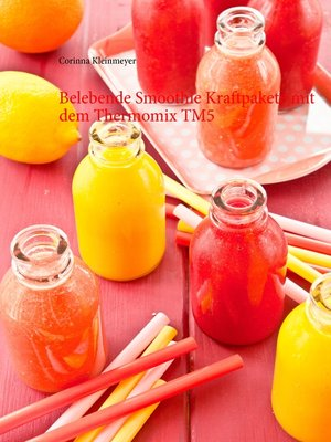 cover image of Belebende Smoothie Kraftpakete mit dem Thermomix TM5