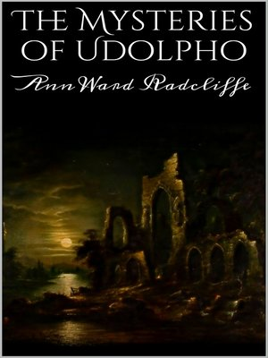 cover image of The Mysteries of Udolpho