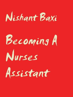 cover image of Becoming a Nurses Assistant