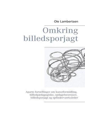cover image of Omkring billedsporjagt