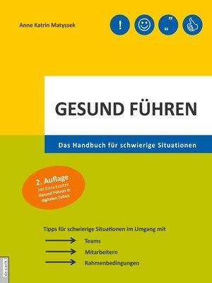 cover image of Gesund führen