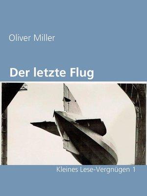 cover image of Der letzte Flug