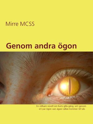 cover image of Genom andra ögon