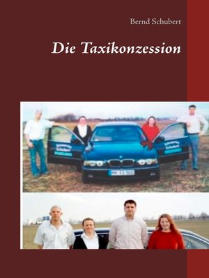 cover image of Die Taxikonzession
