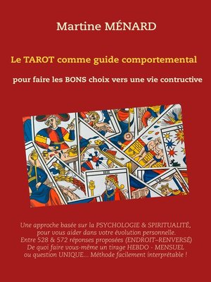 cover image of Le tarot comme guide comportemental.