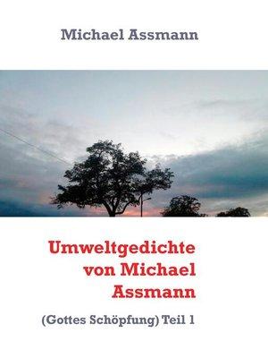 cover image of Umweltgedichte von Michael Assmann
