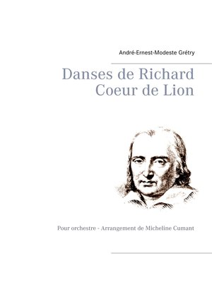 cover image of Danses de Richard Coeur de Lion