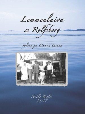 cover image of Lemmenlaiva s/s Rolfsborg